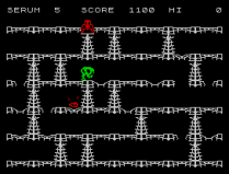 Horace and the Spiders ZX Spectrum 08