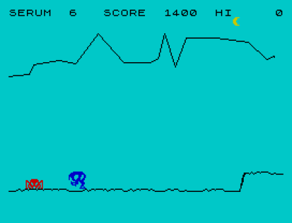 Horace and the Spiders ZX Spectrum 09