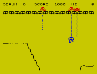 Horace and the Spiders ZX Spectrum 10