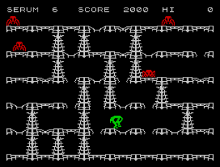 Horace and the Spiders ZX Spectrum 11