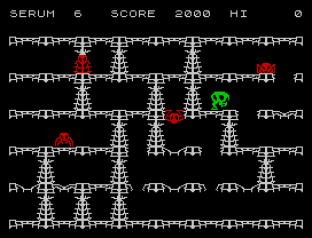 Horace and the Spiders ZX Spectrum 12