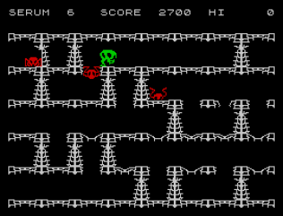 Horace and the Spiders ZX Spectrum 15