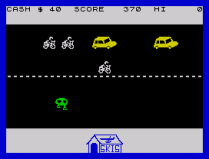 Horace Goes Skiing ZX Spectrum 02