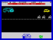 Horace Goes Skiing ZX Spectrum 03
