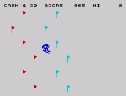 Horace Goes Skiing ZX Spectrum 09