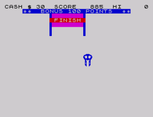 Horace Goes Skiing ZX Spectrum 10