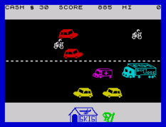 Horace Goes Skiing ZX Spectrum 11