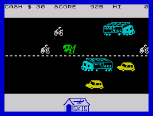Horace Goes Skiing ZX Spectrum 12
