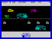 Horace Goes Skiing ZX Spectrum 14