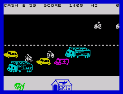 Horace Goes Skiing ZX Spectrum 23