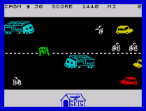 Horace Goes Skiing ZX Spectrum 24