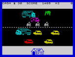 Horace Goes Skiing ZX Spectrum 25