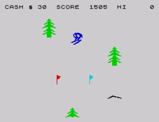 Horace Goes Skiing ZX Spectrum 26