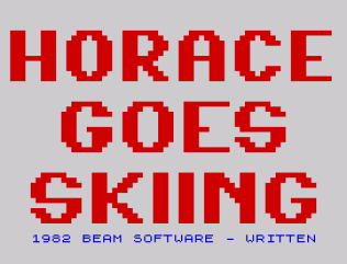Horace Goes Skiing ZX Spectrum 27