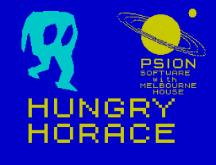 Hungry Horace ZX Spectrum 01