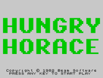 Hungry Horace ZX Spectrum 02