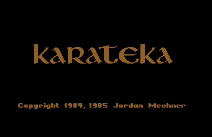 Karateka C64 01