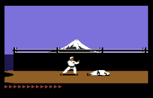 Karateka C64 10