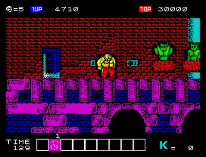 Karnov ZX Spectrum 09