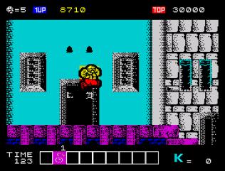 Karnov ZX Spectrum 10