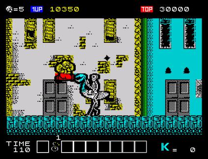 Karnov ZX Spectrum 12