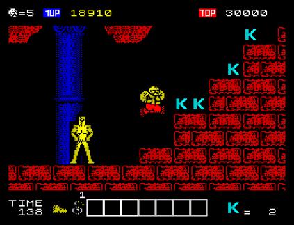 Karnov ZX Spectrum 23