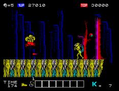 Karnov ZX Spectrum 33