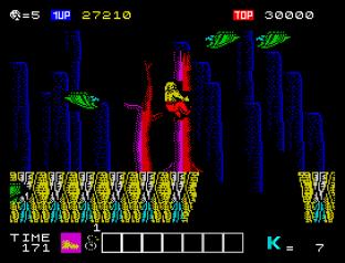 Karnov ZX Spectrum 34