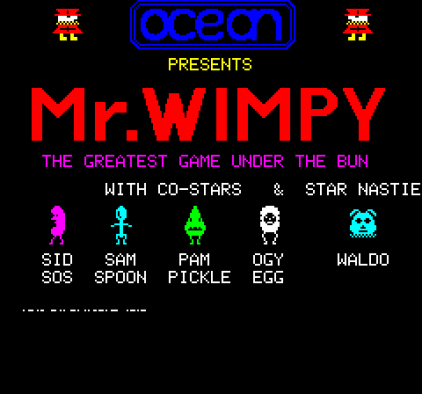 Mr Wimpy Oric 01