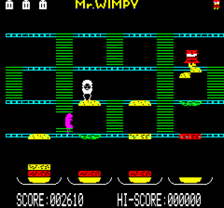 Mr Wimpy Oric 10