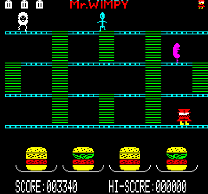 Mr Wimpy Oric 12