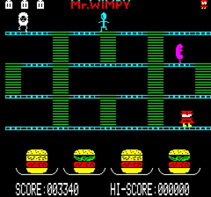 Mr Wimpy Oric 12