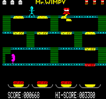 Mr Wimpy Oric 15