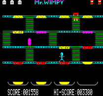 Mr Wimpy Oric 16