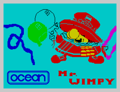 Mr Wimpy ZX Spectrum 01