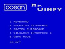 Mr Wimpy ZX Spectrum 02
