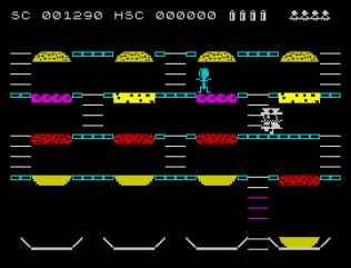 Mr Wimpy ZX Spectrum 11