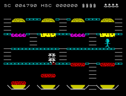Mr Wimpy ZX Spectrum 12