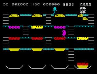 Mr Wimpy ZX Spectrum 22