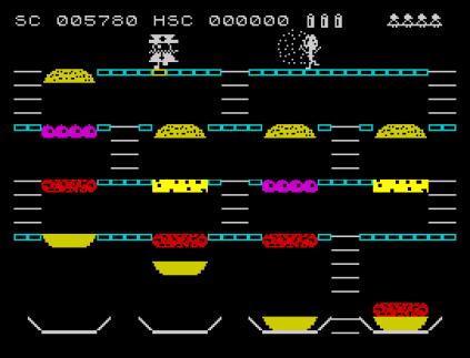 Mr Wimpy ZX Spectrum 23