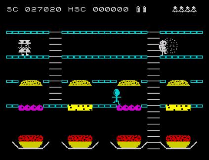 Mr Wimpy ZX Spectrum 31
