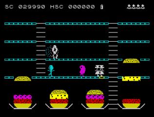 Mr Wimpy ZX Spectrum 33