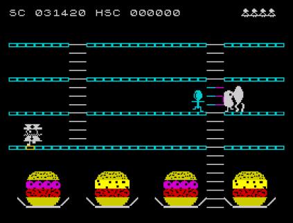 Mr Wimpy ZX Spectrum 34
