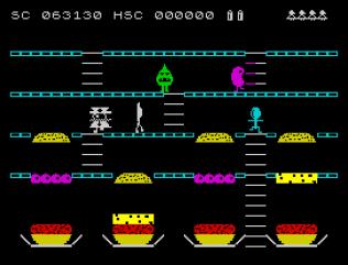 Mr Wimpy ZX Spectrum 44
