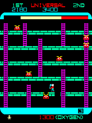 Space Panic Arcade 26