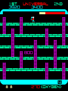 Space Panic Arcade 36