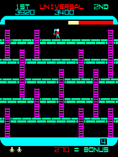 Space Panic Arcade 37