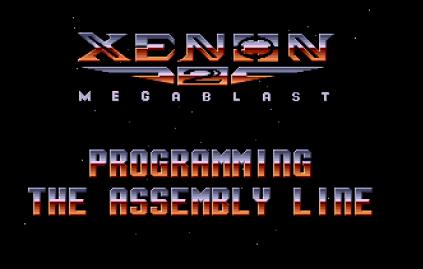 Xenon 2 Megablast Amiga 01