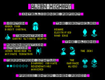 Alien Highway ZX Spectrum 02
