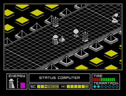 Alien Highway ZX Spectrum 09